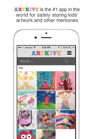 Artkive - Save Kids' Art screenshot 1