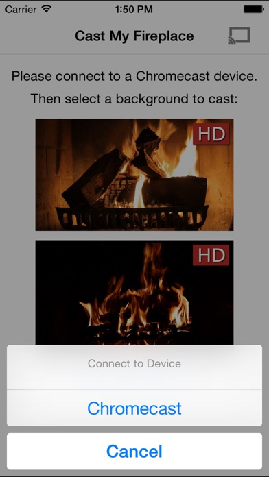 Fireplace for Chromecast on the App Store