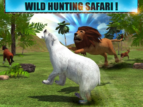 Screenshot #4 pour Angry Lion Attack 3D