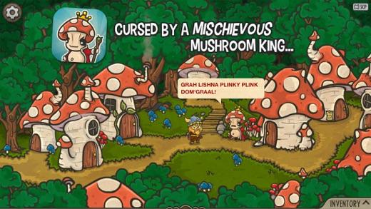 Bad Viking and the Curse of the Mushroom King Screenshot