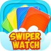 Swiper Watch - Fast Reflex Card Game for the Apple Watch smartphone watch