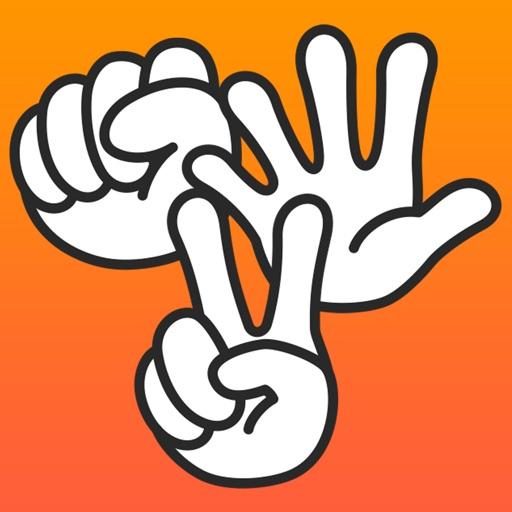Janken - The Classic Rock, Paper, Scissors Game! iOS App
