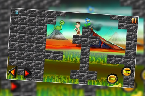 Dinosaur Island 3 : The Prehistoric Lava Mountain Adventure - Free screenshot 4