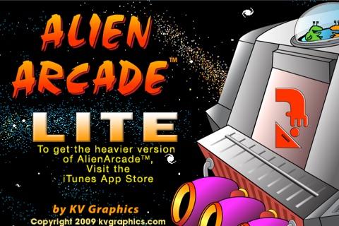 Alien Arcade Lite screenshot 1