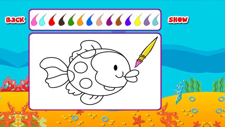 Kids Paint Color Book - coloring pages by sky hill