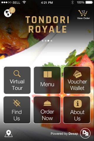 Tondori Royale Indian Restaurant screenshot 1