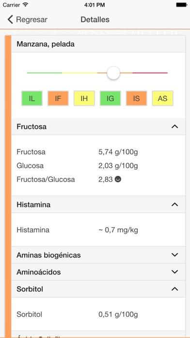 download ALL i CAN EAT – listado de intolerancia a los alimentos para la lactosa, la fructosa, la histamina, el gluten, el sorbitol y el ácido salicílico apps 1