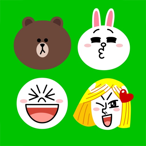 LINE 表情键盘:Emoji Keyboard by LINE