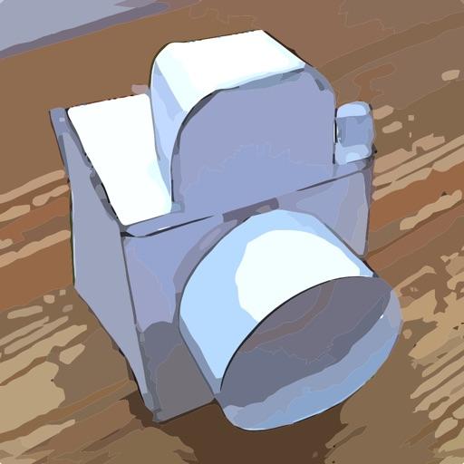 Как сделать камеру из бумаги