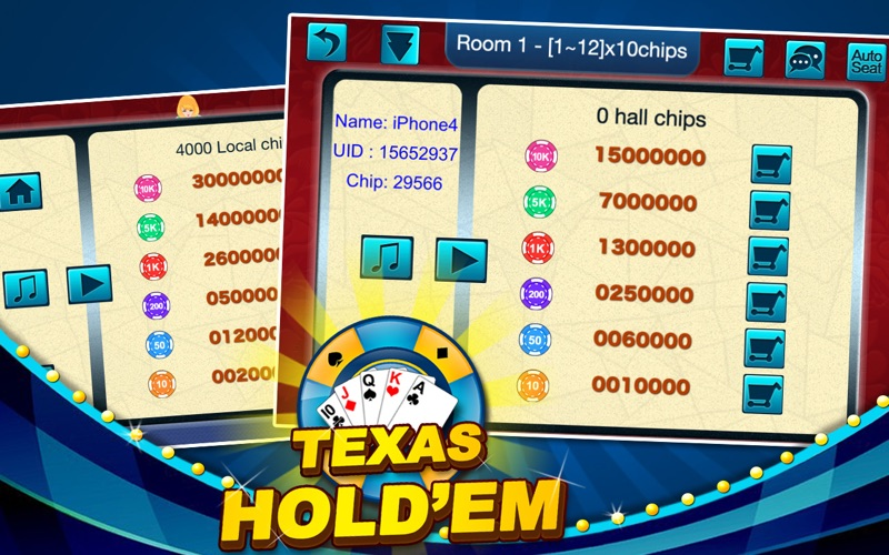 Screenshot #2 for Texas Hold'em - Daily Poke it!