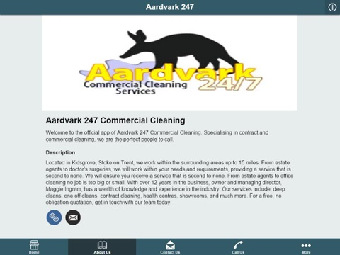 Aardvark 247 Commercial Cleaning-ipad-1