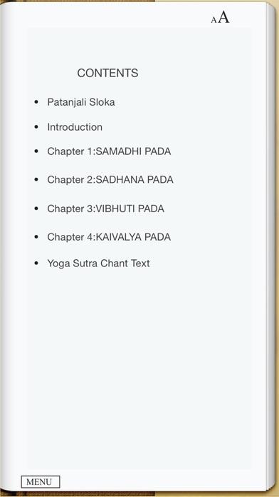 Patanjali Yoga Sutra screenshot1