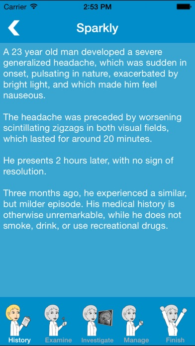Screenshot #2 pour Prognosis : Neurology