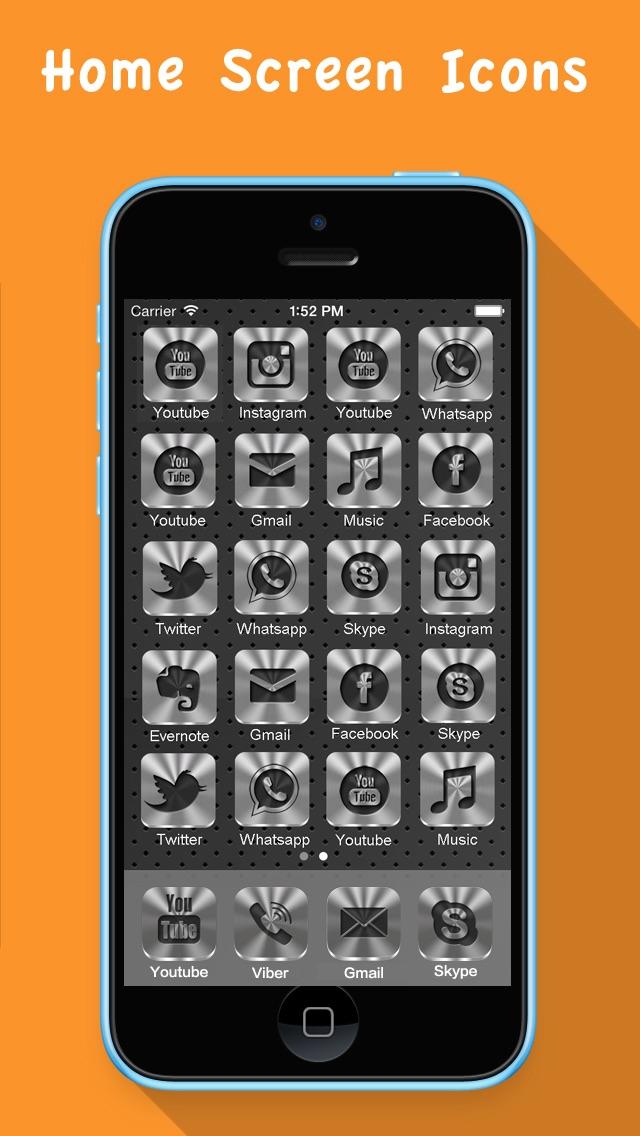 Конструктор Иконок PRO- Иконки для Основного Экрана freeСкриншоты 2