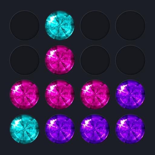 Diamond Round - Block Puzzle Star Jewels Saga Blast Mania 10/10 Game iOS App