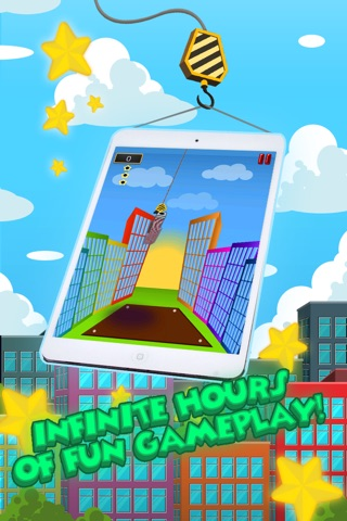 A City High Rise Builder: Super Tower Stacker Story Pro screenshot 2