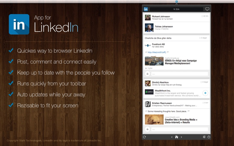 Linkedin App For Mac