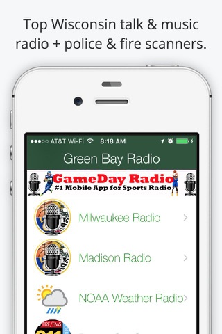 Green Bay GameDay Live Radio – Packers & Bucks Edition screenshot 3