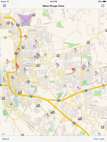 BTR Crime On The App Store - Baton rouge crime map