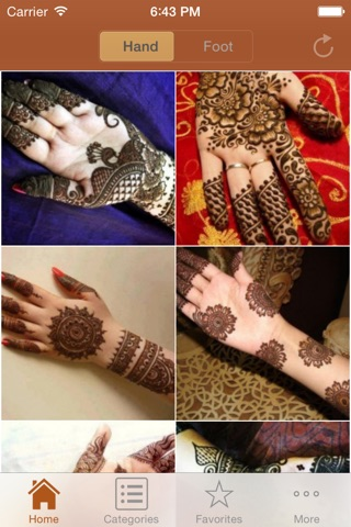 Mehndi Designs screenshot 1