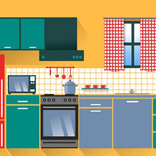 Kitchen Guessing puzzle iOS App