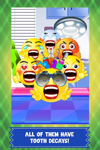 Pet Emoji Little Dentist & Baby Spa Salon - my little emoticon doctor & kid mommy games! screenshot 3