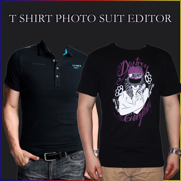 t shirt photo suit editor on the app store