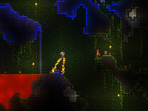 Screenshots of Terraria for iPad