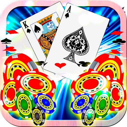 Blackjack Tornado Stars 21 Cards Free - Professional Royale Casino Classic Blackjack HD Live Run Edition iOS App