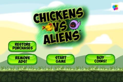 Chickens vs Aliens - Free screenshot 1
