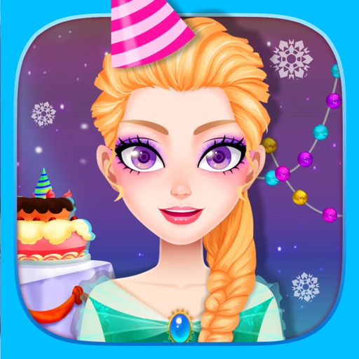 Ice Princess Birthday Adventure - Girls Doctor Care & Cooking Game iOS App