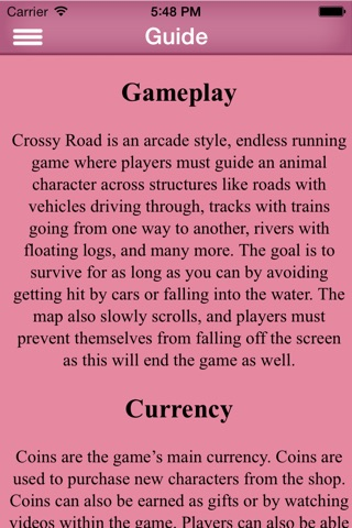 Cheats For Crossy Road Free - Cheat And Guid For Your High Score screenshot 2