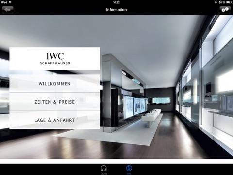 IWC Schaffhausen Uhrenmuseum HD Screenshot