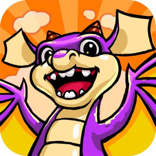 Cartoon Dragon 3D iOS App