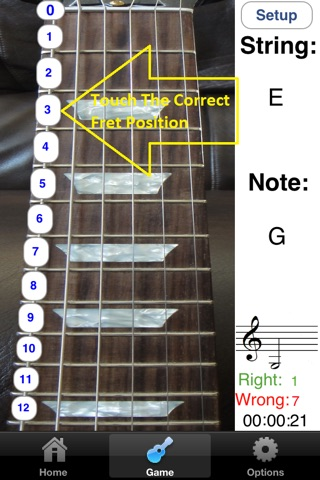Electric Guitar Fretboard Addict screenshot 2
