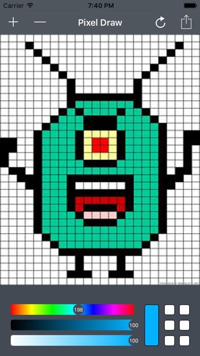 Extrêmement Pixel Art Drawing on the App Store BV72