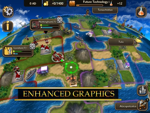 Screenshot #1 for Civilization Revolution 2