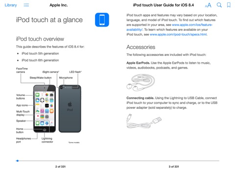 Pad User Guide for iOS 84 by Apple Inc on iBooks