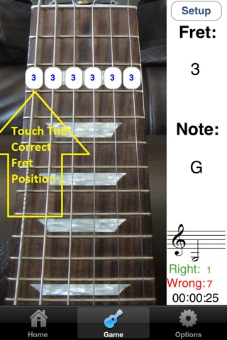 Electric Guitar Fretboard Addict screenshot 3