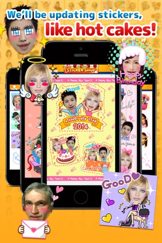 StickerMe - Selfie Stickers and Emoji screenshot 4