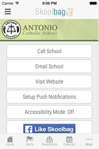 Antonio Catholic School - Skoolbag screenshot 4