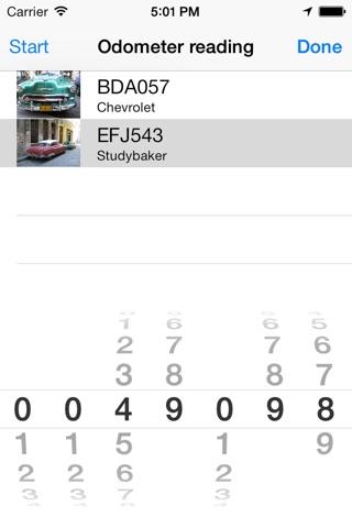 Travelreporter GPS milage log screenshot 3