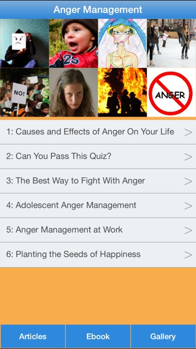 Anger Management - The Guide To Manage & Control Your Anger! screenshot one