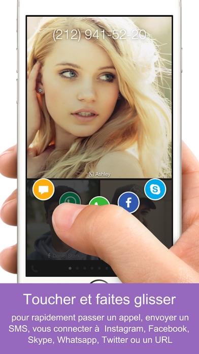 Screenshot #2 pour One Touch Dial - T9 dialer Composition rapide appelé numérotation rapide faciale  numérotation visuelle photo composition abrégée