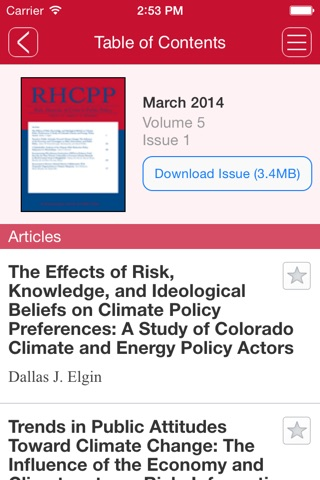 Risk, Hazards & Crisis in Public Policy screenshot 2