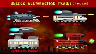 ロケット列車の戦い:列車対ロボット / Battle Trains Rocket Railroad: Subway Rail Surfers Rush & Run Train Gameのスクリーンショット3