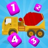 A Builder Counting Game for Children: Learning to count at the construction site
