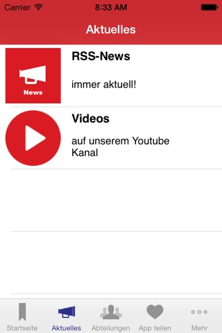 SSF Bonn 05 e.V. screenshot 2