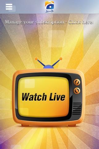 Geo TV screenshot 3