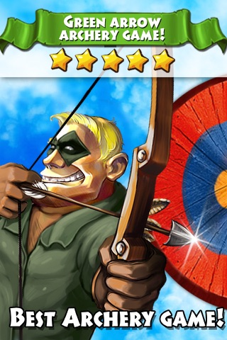 Green arrow! Bow masters screenshot 1
